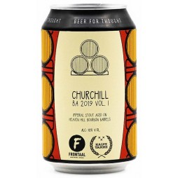 Brouwerij Frontaal, Churchill BA 2019 Vol. I
