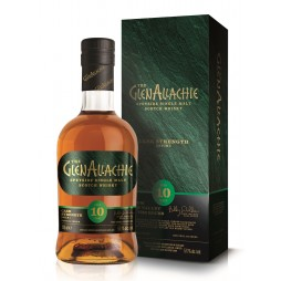 The GlenAllachie 10 års, Speyside Single Malt Whisky, Cask Strenght, Batch 1
