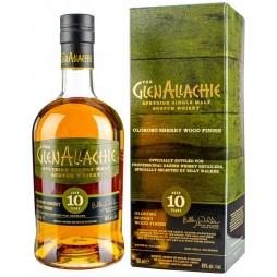 The GlenAllachie 10 års, Speyside Single Malt Whisky, Oloroso Sherry