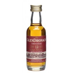 GlenDronach, Original, 12 Year Single Highland Malt Whisky, Miniature