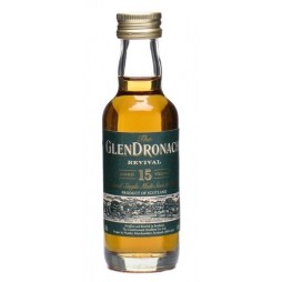 GlenDronach, Revival, 15 Year Single Highland Malt Miniature