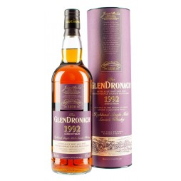 GlenDronach, JULEMALTEN 2018, 25 Years Old Highland Single Malt Whisky 48%