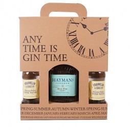 Hayman´s Old Tom Gin, Gaveæske med 4 Indian tonic