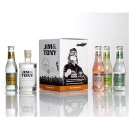 Jim and Tony, Gin og tonic, gaveæske, Premium Kit