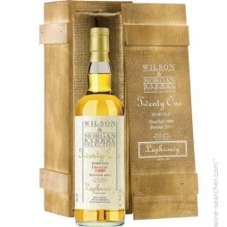 Laphroaig 21 års, Single Malt Whisky, Wilson and Morgan