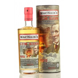Macnair´s Lum Reek, Peated Blended whisky 46 %