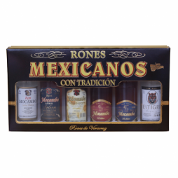 Mocambo, Giftboks, Mexicansk rom, 6 x 5 cl