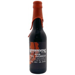 Nerdbrewing, Xmas Override Imperial Chocolate Orange Milkshake Stout 2020
