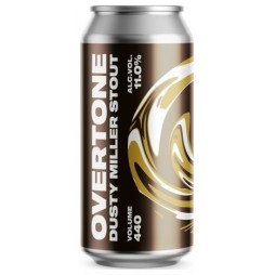 Overtone Brewing Co., Dusty Miller Stout