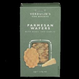 Biscuit med parmesan og basilikum. 75 G