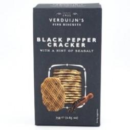 Bisquit med sort peber og havsalt, 75 G