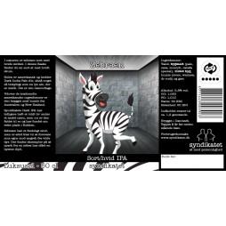 Syndikatet, Zebraen, Sort/Hvid IPA