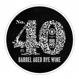 The White Hag Irish Brewing Company, No. 40 Barrel Aged Rye Wine