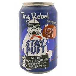 Tiny Rebel Brewing Co, Stay Puft Imperial Honey Glazed Ham Edition