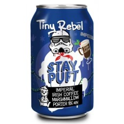 Tiny Rebel Brewing Co, Stay Puft Imperial Irish Coffee Edition