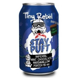 Tiny Rebel Brewing Co, Stay Puft Imperial Mint Chocolate Edition