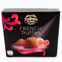 Chokolade trøfler hindbær