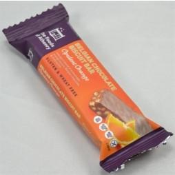 Weibel Chocolate Biscuit Bar, Opulent Orange