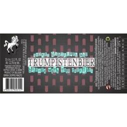 White Pony, Trumpistenbier, smoked quadruppel Ale