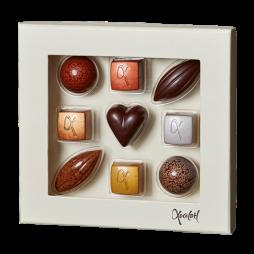 Xocolatl, Selection 9 stk. Gaveæske