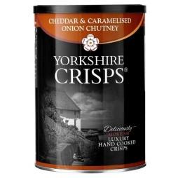Yorkshire Crisps, Cheddar & Caramelised Onion Chutney Chips