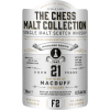 The Chess Malt Collection, Macduff 21 års, Single Highland Malt Whisky - White Pawn - F2