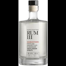 Skotlander Handcrafted Rum III, Sea Buckthorn White Rum