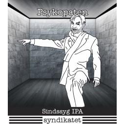 Syndikatet, Psykopaten, Sindssyg IPA 33 cl