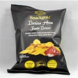 Snackgold, Gourmetchips med Iberico skinke 40g