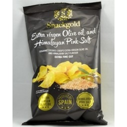 Snackgold, Gourmetchips med Himalaya salt 125g