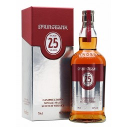 Springbank 25 års, Single Malt Whisky