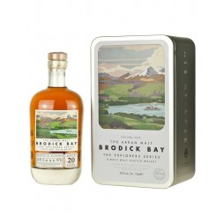 Arran, Brodick Bay, 1 edt. The Explores Series, Single Island Malt Whisky 20 års