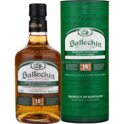 Edradour Ballechin, 10 års, Heavely Peated, Single Malt Whisky