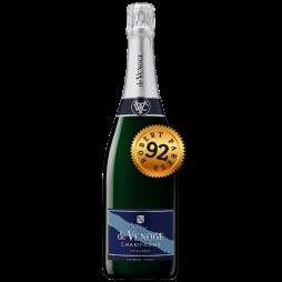De Venoge Champagne, Cordon Blue, Extra Brut