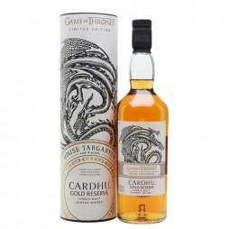 Game of Thrones, House Targaryen, Cardhu Gold Reserve, Single Malt Whisky