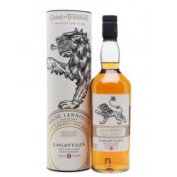 Game of Thrones, House Lannister, Lagavulin 9 års Single Malt whisky