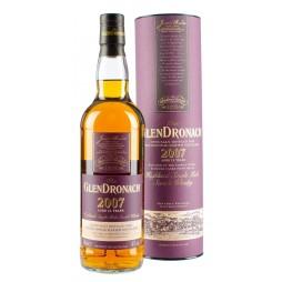 GlenDronach, JULEMALTEN 2018, 11 Years Old Highland Single Malt Whisky 46% (P.X. Sherry Casks)