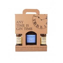 Hayman´s London Dry Gin, Gaveæske med 4 tonic
