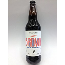 Insurgente, Brown, Mexico 0,33 cl.