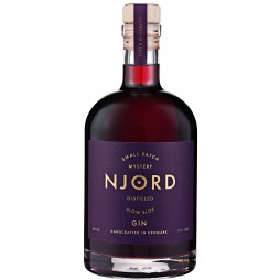 Njord Mystery Gin, Distilled Slow Sloe, Small Batch