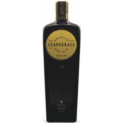 Scapegrace GOLD, Premium Dry Gin, 57,0 %